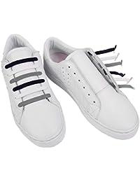 U-LACE CLASSIC Lacets plats élastiques pour chaussures et baskets Vans Converse Adidas Nike Homme Femme Enfant (CAMOUFLAGE)