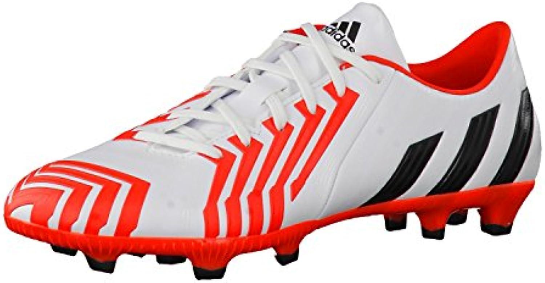 adidas adidas adidas p absolado instinct fg - royaume - uni 8,5, blanc / noir / rouge 3775ce