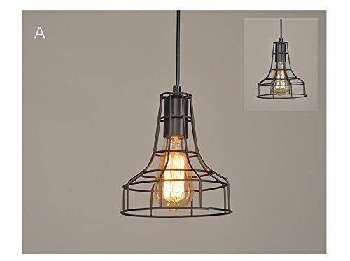 pantalla-metal-creativa-lampara-de-techo-de-hierro-forma-de-jaula-original-color-negro