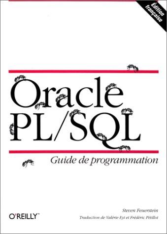 Oracle PL/SQL : Guide du programmeur (avec disquette)