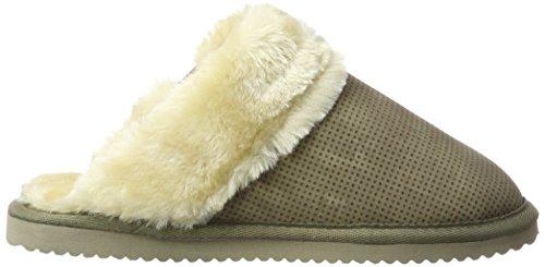 flip*flop Riddle, Pantofole Donna Grigio (Taupe)