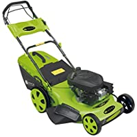 Zipper Benzin Rasenmäher ZI-BRM56 Radantrieb 4in1 Mähen Mulchen 6,0 PS