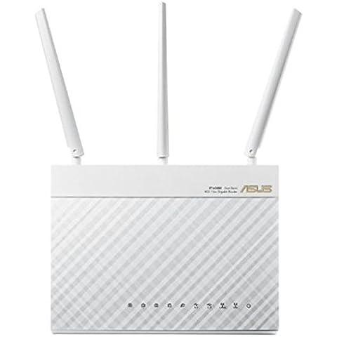 Asus RT-AC68U WHITE AC1900 DB WLAN ROUTER 802.11 A/B/G/N/, 90IG00C1-BM3000 (DB WLAN ROUTER 802.11