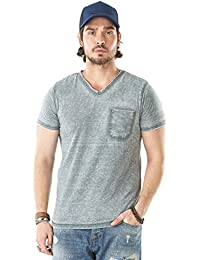 2a4a3f9f62a Von Dutch Vondutch - Tee-Shirt Homme Chris Gris