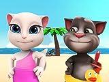 Sommerspaß am Strand - Talking Tom Shorts