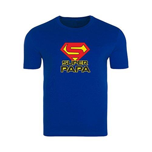 mit Spruch Super Papa Gr. XL Geschenk Geburtstag Vatertag ()