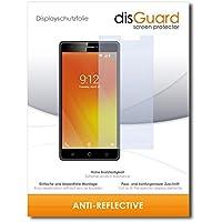 [2 Pack] Nuu Mobile M3 Screen Protector Film disGuard® [Anti-Reflex] Anti-Glare, Anti-Reflective / Scratch Resistant, Bubble-Free Install, Anti-Fingerprint, Anti-Scratch / Film, Protector Film, Screen Guard