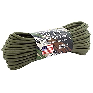 Atwood Rope BattleCord 5,6 mm - 15 m, Oliv