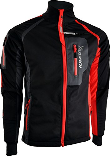SILVINI Herren Sport Jacke Anteo, Black, L, 3213-MJ421-08004