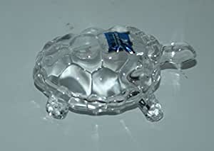 Crystal Turtle Medium Tortoise for Feng Shui and vastu - Best Gift for Career and Luck