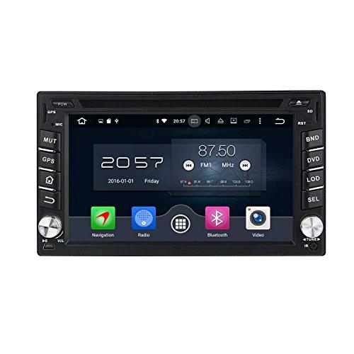 6.2 Zoll 2 Din Android 6.0 OS Autoradio für Nissan Sentra 2007 2008 2009 2010 2011, kapazitiver Touchscreen mit 8 Core 1.5G Cortex A53 CPU 32G Flash und 2G DDR3 RAM GPS Navi Radio DVD Player 3G/WIFI Aux Input OBD2 USB/SD DVR (Nissan Sentra-touch-screen)