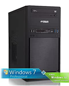 Ankermann-PC.Cestrum, AMD A6-6400K 2x 3.90GHz, ATI RADEON HD 8470D Graphics, Windows 7 Professionnel 64 Bit, 1TB Seagate HDD, 8 GB RAM, 24x DVD-RW Writer-, Card Reader, Art.No.: 46562