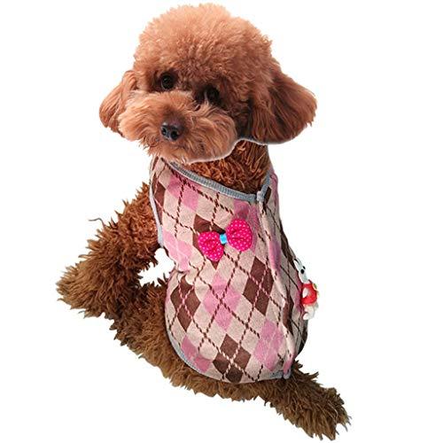 MCYs Hund Pullover Haustier Kleidung Hund Katze Kleidung Haustier Kleidung warme Kapuze Winter