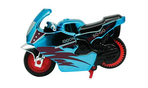 Spin-Go Mini-Stunt-Bike Flash Blue