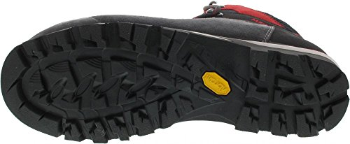 Meindl 3856 031, Chaussures montantes pour Homme Anthracite/rouge