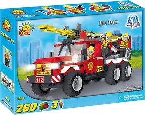 Cobi-Action-Town-Fire-Team-Playset