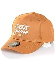 Sixth June - Casquette homme lifestyle camel à logo