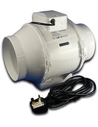 Fantronix Chambre de culture 4 ligne TT ventilateur Tente hydroponique Extracteur pour filtre à carbone