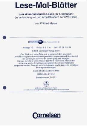 Deutsch plus - Grundschule - Lesetraining / Lese-Mal-Blätter,