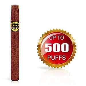 Cigare électronique jetable 500 bouffées (sans nicotine ni tabac)