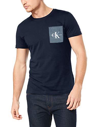 Calvin Klein Jeans Herren Shirt dunkelblau M