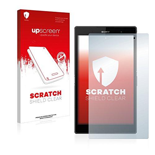 upscreen Scratch Shield Schutzfolie für Sony Xperia Z3 Tablet Compact SGP611, SGP612 - Kristallklar, Kratzschutz, Anti-Fingerprint