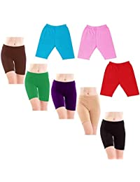 GMR Girls & Kids Cycling Shorts/Tights Pack of 6 - (60,65,70,75,80,85,90,95 cm)