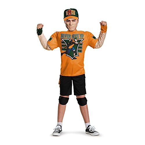 WWE John Cena Boys Classic Muscle Costume (Large/10-12)
