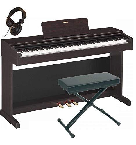 Yamaha ydp-143R legno di rosa-Pianoforte digitale + sedile + Cuffia