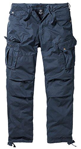 BRANDIT Columbia Mountain Vintage Cargohose Hose, Gr. L, blau