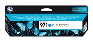 HP 971 - Cartucho de tinta Original HP 971 Cian para HP OfficeJet Pro X476dw, X576dw, X451dw, X551dw (B00AZTTBP6) | Amazon Products