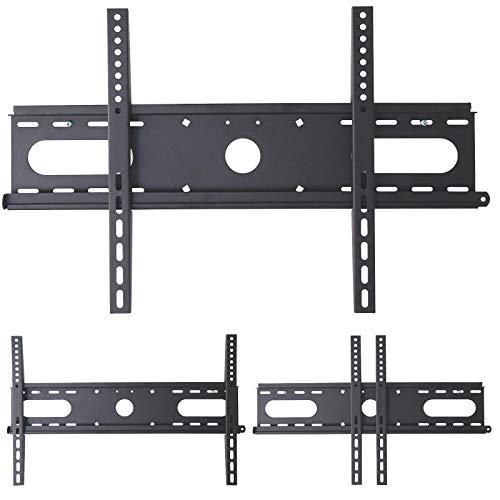 DRALL INSTRUMENTS TV Wandhalterung Universal Fernseh Halterung Super Flach Wand Halter Aufhängung auch für Curved und 3D HD LED LCD Fernseher - 28-60 Zoll - VESA 200 300 400 600 - schwarz Modell: S46