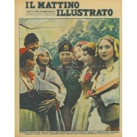 Un grazioso episodio della visita del Duce ai paesi dell'Umbria