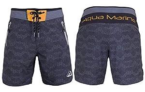 Aqua Marina Tahiti Herren Short Hose Boardshort Wakeboard Swimshort Grey
