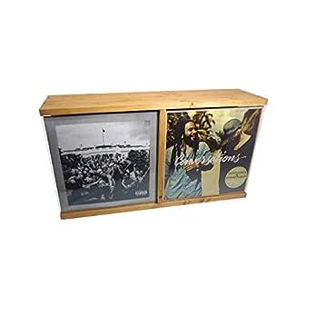 FloMi Schallplatten Regal 48+ LPs • Maxi Vinyl Box • Schallplatten Aufbewahrung