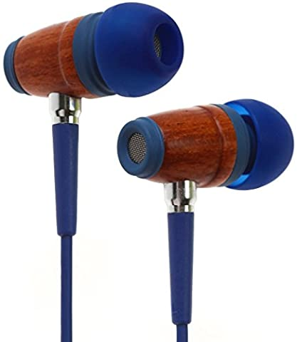Symphonized Kids Volume Limited Premium Wood In-ear Noise-isolating Headphones Earbuds Earphones with