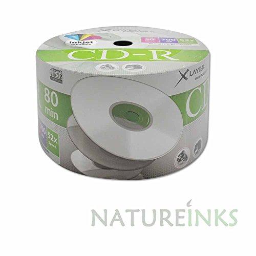 50-xlayer-white-printable-blank-cd-cd-r-discs-52x-80-minutes-700mb-shrink-wrap-104809