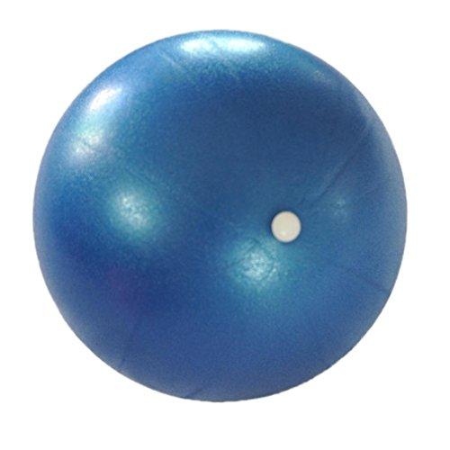 HARRYSTORE Durchmesser 25cm Gymnastikball Übung Fitness Glatt Pilates Yoga Ball (Blue)