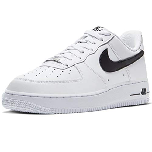 Nike air force 1 '07 an20, scarpe da basket uomo, white/black
