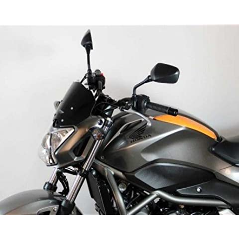 Parabrisas MRA de deportes Disco, Honda NC 700/750S, Negro