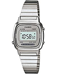 Casio - Reloj de Señora metálico Plata