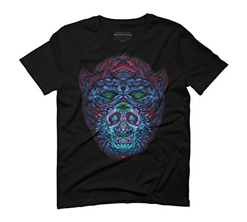 Primal Men's Graphic T-Shirt - Design By Humans Black