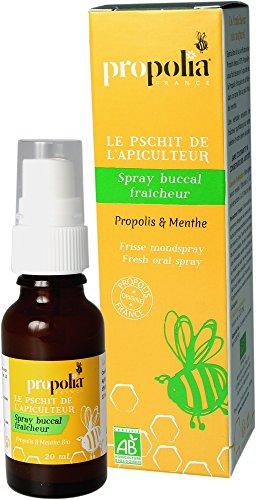 Propolia Spray Buccal Fraîcheur Propolis/Menthe Bio 20 ml