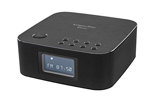 Krüger & Matz km0815Radio réveil avec télécommande (Radio FM, Dab +, Bluetooth, USB) Noir