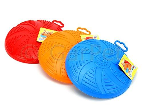 Hunde Frisbee soft Disc Wurfscheibe schwimmfähig Scheibe Hundespielzeug schwimmt