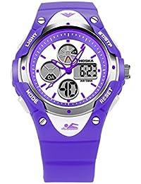 Señoras Deportivo Reloj Digital/Estudiante Multifuncional Relojes/Colores Surtidos-F
