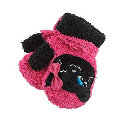 Adorable Super suave bebé niñas niños cálido invierno