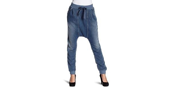 d50191b314073b Fornarina Textil Damen Jeanshose/Lang BER1E26D528TT, Gr. 25, Blau (light  blue denim): Amazon.de: Bekleidung