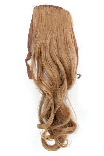 Haarteil ZOPF Blond wellig 45cm YZF-TC18-18 Band Haar Klammer Haarverlängerung