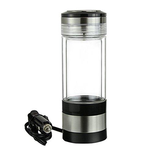 Preisvergleich Produktbild Taicheng Automobil Glas Isolierflasche, 12V doppelte isolierte Glas Wasserkocher Cup,280ml